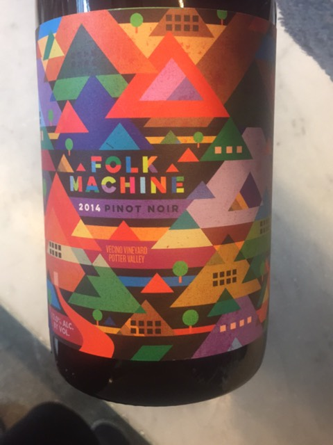 folk machine wine