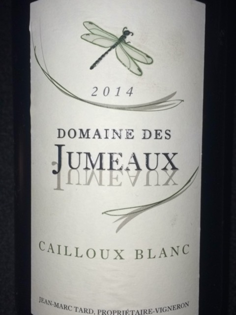 jumeaux cailloux blanc 2014 wine info. Black Bedroom Furniture Sets. Home Design Ideas
