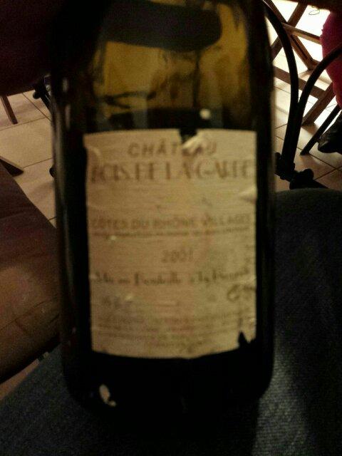 Mousset Barrot Ch u00e2teau du Bois de la Garde C u00f4tes du Rh u00f4ne 2001 Wine Info # Chateau Du Bois De La Garde