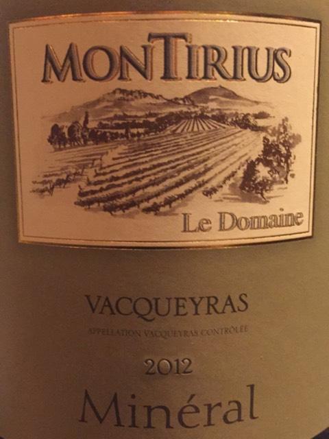 Montirius c tes du rh ne jardin secret 2012 wine info for Jardin secret wine