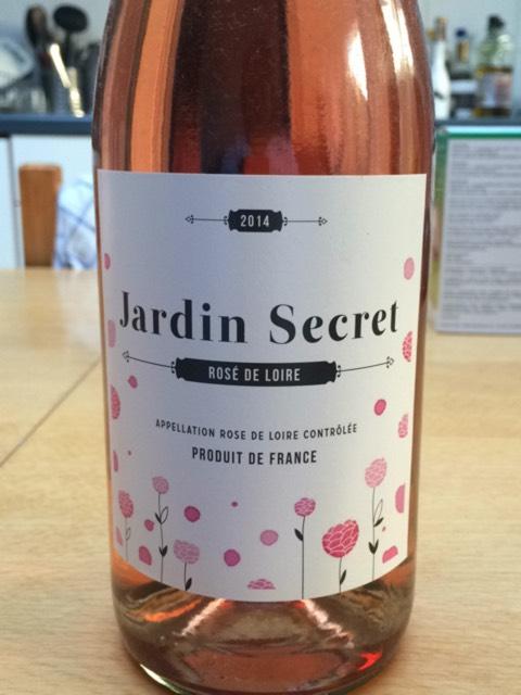 Jard n rose secret de loire wine info for Buy secret jardin