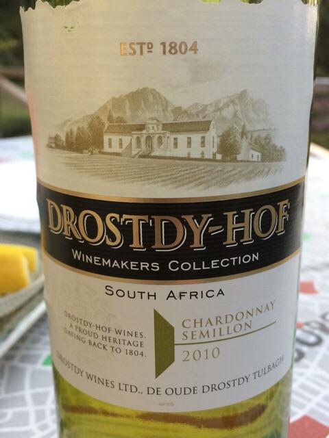 2010 Drostdy-Hof Chardonnay - Semillon   Vivino