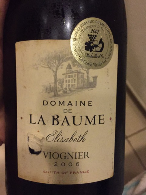 domaine de la baume viognier elisabeth 2006 wine info. Black Bedroom Furniture Sets. Home Design Ideas