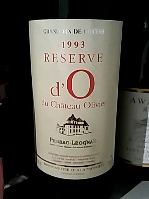 Ch teau olivier reserve d 39 o du chateau olivier pessac for Chateau olivier