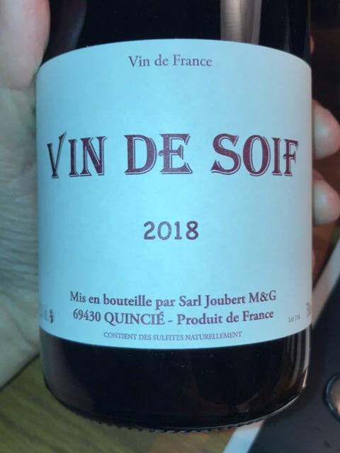 Domaine Marcel Joubert Vin de Soif | Vivino