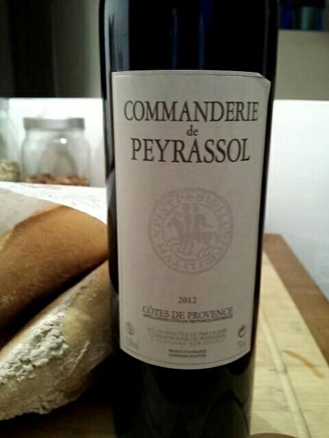 La commanderie de peyrassol peyrassol rouge 2012 wine info - La commanderie de peyrassol ...