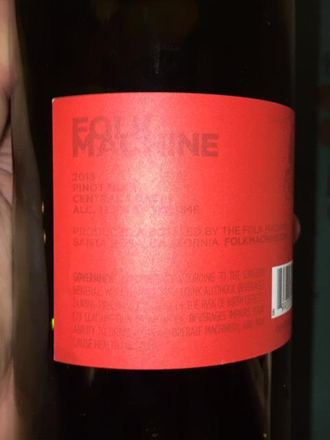 folk machine pinot noir