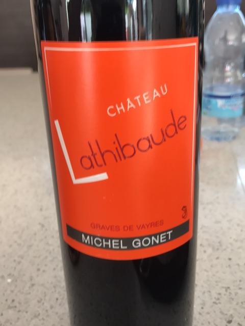 Château Lathibaude Graves de Vayres 2012   Wine Info