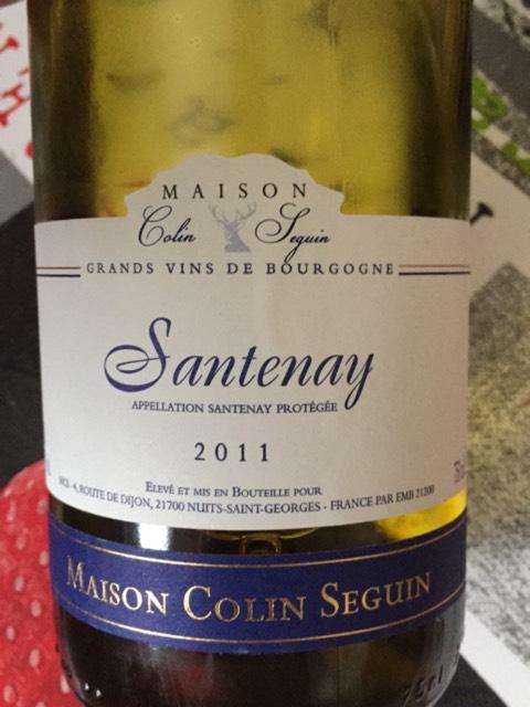 Maison colin seguin santenay 2008 wine info for Champagne seguin
