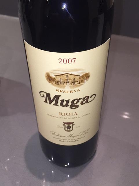 Muga Make Up Guru Africa: Bodegas Muga Rioja Reserva 2007