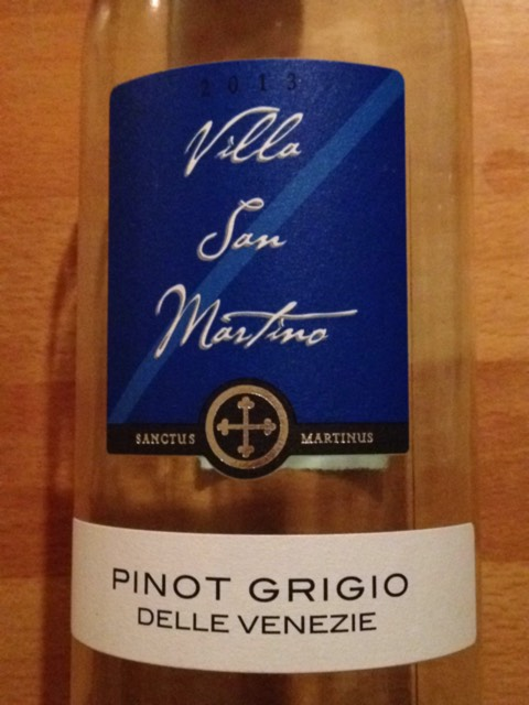 Villa San Martino Pinot Grigio Delle Venezie Wine Info