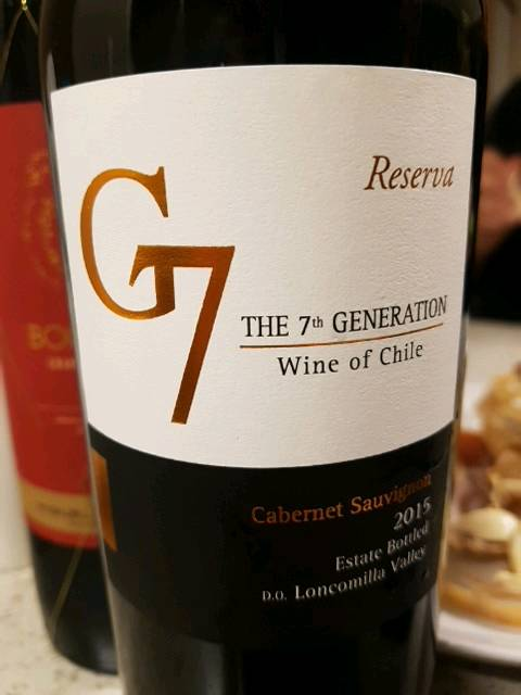 The 7th Generation - G7 Reserva Cabernet Sauvignon U.V. | Wine Info