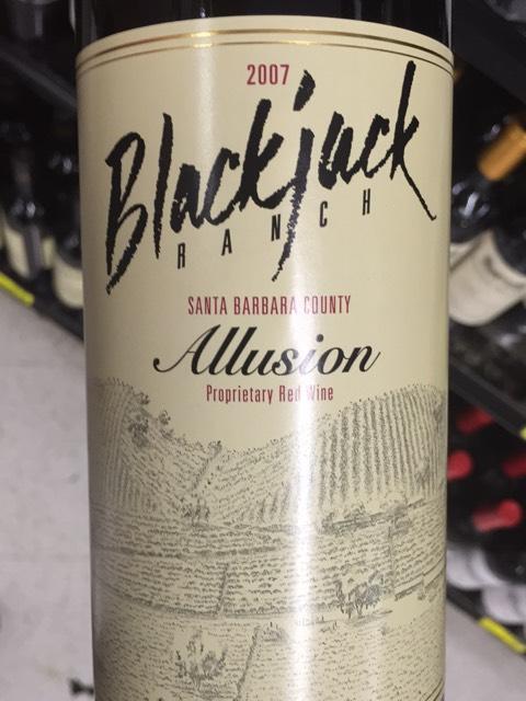 Blackjack ranch allusion 2006