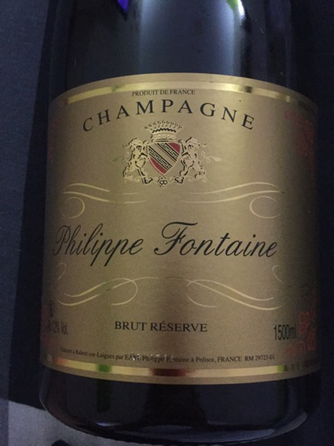 philippe fontaine chamapgne brut reserve 2013 wine info. Black Bedroom Furniture Sets. Home Design Ideas