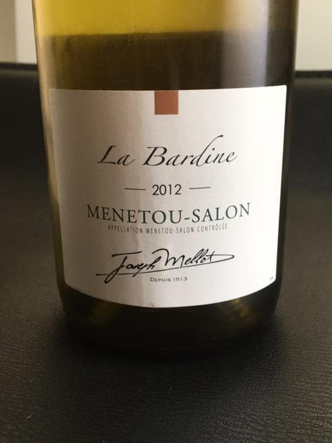 Joseph mellot menetou salon la bardine 2015 wine info - Assadet menetou salon ...