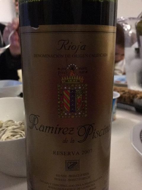Ramirez reserva ramirez de la piscina 1991 wine info - Ramirez de la piscina ...