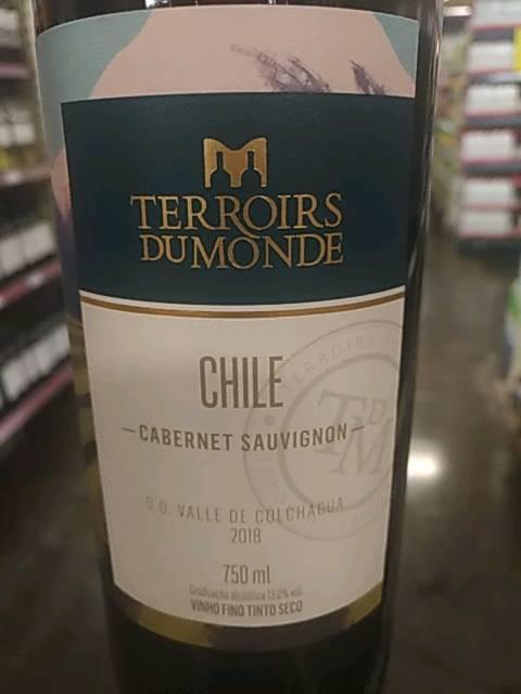 Terroirs Du Monde Cabernet Sauvignon Vivino