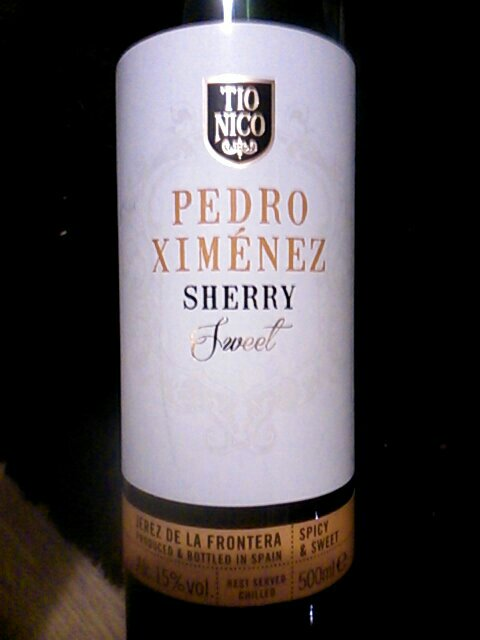 tio nico sherry pedro ximenez sweet wine info. Black Bedroom Furniture Sets. Home Design Ideas