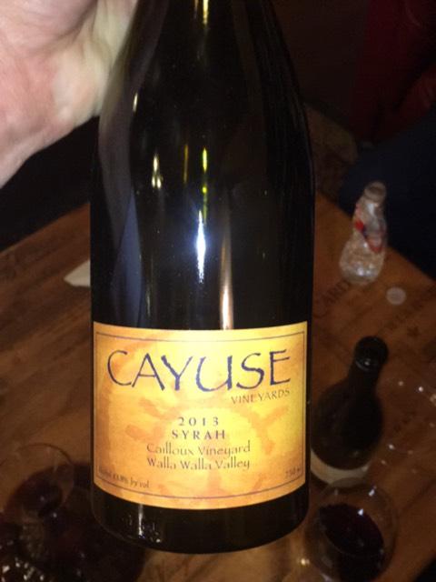 Cayuse syrah 2011 wine info for Cayuse vineyards