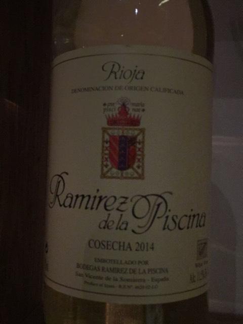 Ramirez de la piscina rioja 2014 wine info - Ramirez de la piscina ...