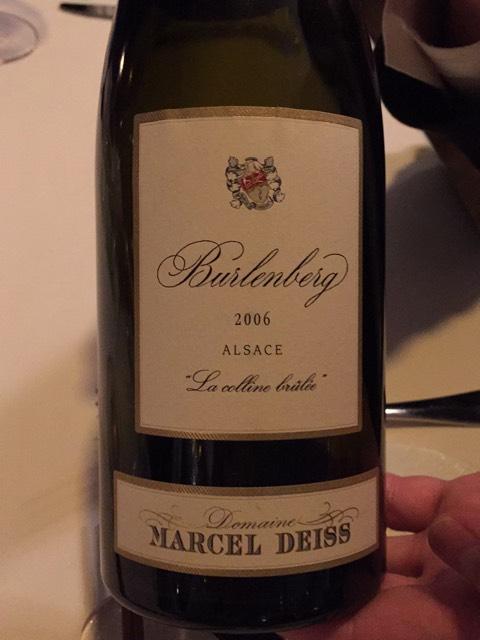 Domaine marcel deiss engelgarten le jardin des anges 2006 for Le jardin high wine