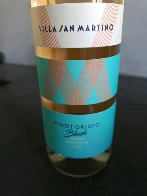 Villa San Martino Pinot Grigio Blush 2015 Wine Info