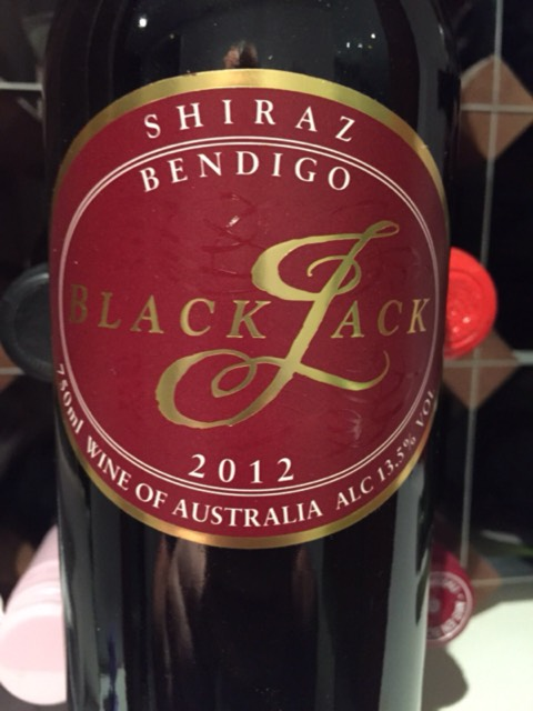 Blackjack winery bendigo