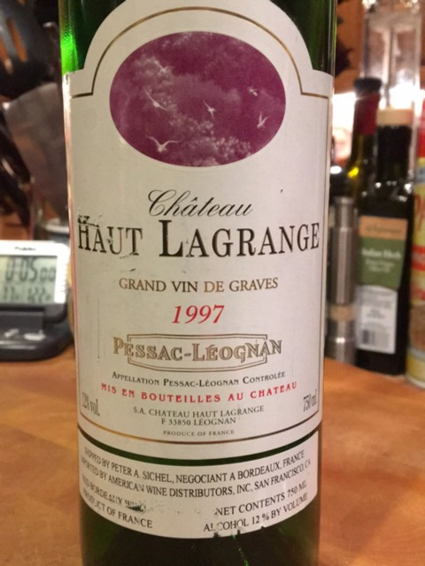ch teau haut lagrange pessac l ognan 1997 wine info. Black Bedroom Furniture Sets. Home Design Ideas