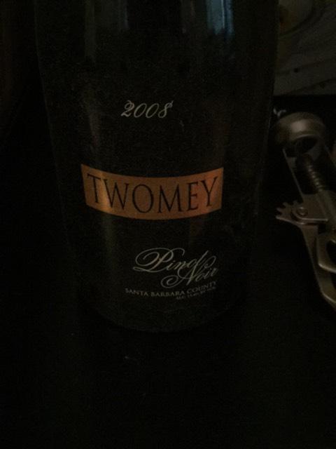 Twomey Pinot Noir Sonoma Coast 2008 Wine Info