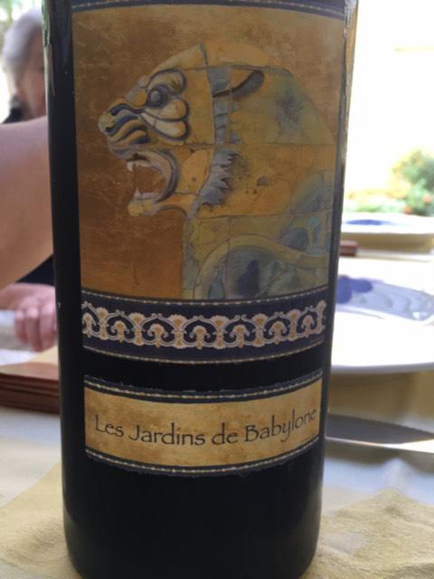 Didier dagueneau les jardins de babylone moelleux 2010 for Jardin de babylone wine