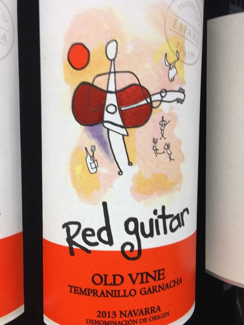 red guitar tempranillo 2013 wine info. Black Bedroom Furniture Sets. Home Design Ideas