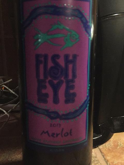 Fish eye merlot 2013 wine info for Fish eye wine