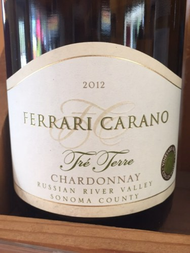 ferrari carano tr terre chardonnay 2012 wine info. Cars Review. Best American Auto & Cars Review