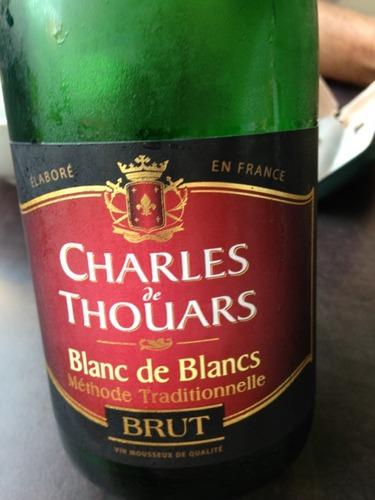 Thouars charles de brut blanc de blancs wine info for Belle jardin blanc de blancs