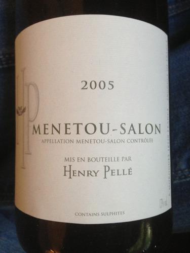 Henry pell menetou salon rouge 2007 wine info for Menetou salon rouge