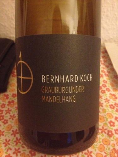Bernhard koch mandelhang grauburgunder wine info for Koch 3 winde