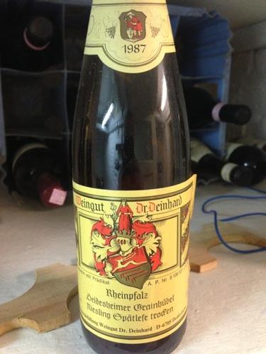 Dr deinhard rheinpfalz deidesheimer grainhubel riesling for Deinhard wine