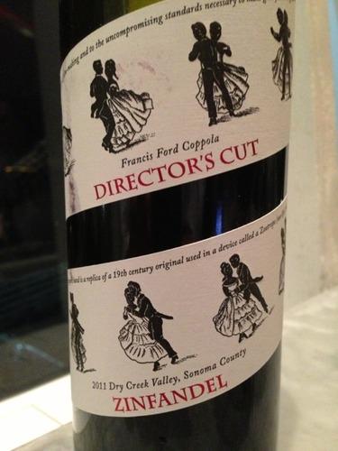 Francis Ford Coppola Director S Cut Zinfandel 2011 Wine Info