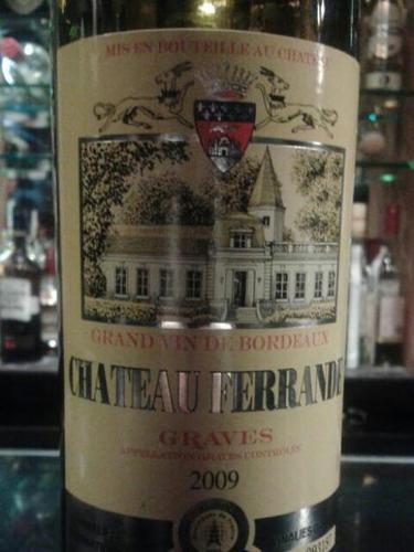 Ch teau ferrande graves wine info for Chateau ferrande