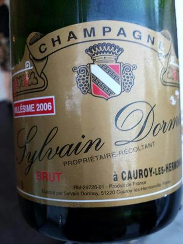 sylvain dormay cauroy les hermonvil champagne brut 2006 wine info. Black Bedroom Furniture Sets. Home Design Ideas