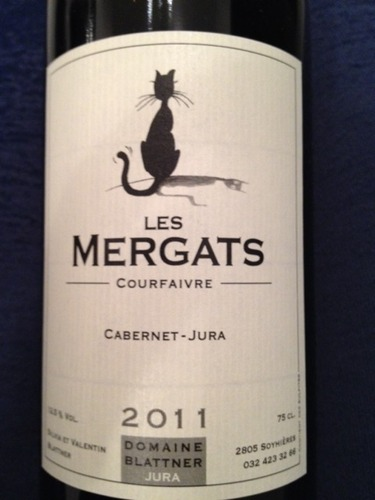 Image result for les mergats cabernet jura