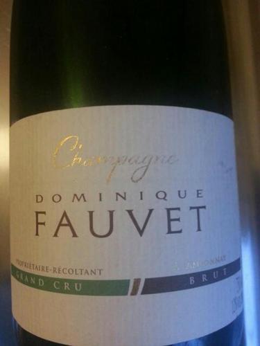 Fauvet Grand Cru Brut 2014 Wine Info
