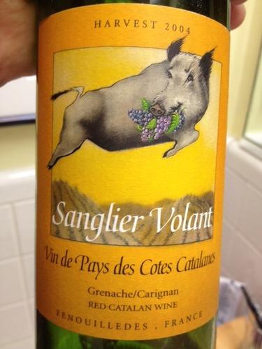 Sanglier volant harvest vin de pays des cotes catalanes - Comment cuisiner des cotes de sanglier ...