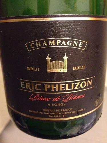 Eric phelizon champagne blanc de blancs brut wine info for Belle jardin blanc de blancs