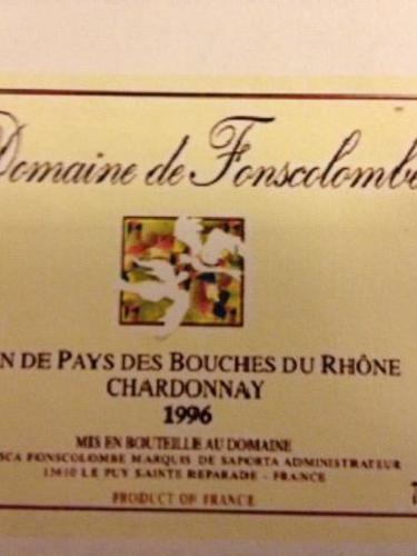Ch teau de fonscolombe vin de pays bouches du rhone for Info regionale bouche du rhone