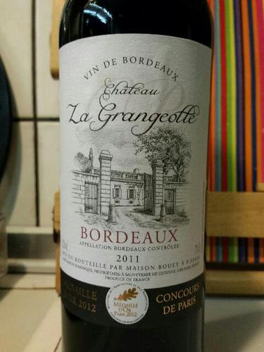 maison bouey ch teau la grangeotte bordeaux wine info. Black Bedroom Furniture Sets. Home Design Ideas