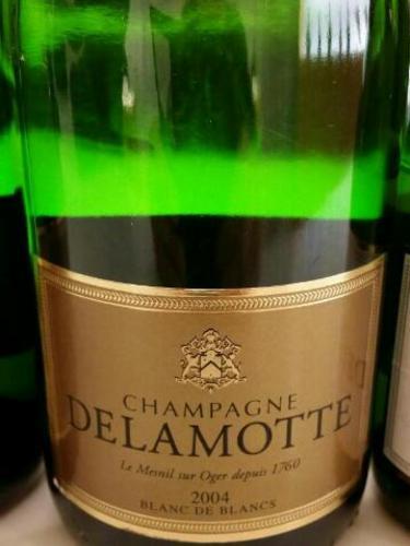 Delamotte champagne blanc de blancs brut mill sim 2009 wine info for Salon blanc de blancs le mesnil sur oger