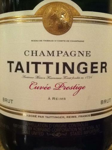 Taittinger champagne cuv e prestige nv wine info - Champagne taittinger cuvee prestige ...