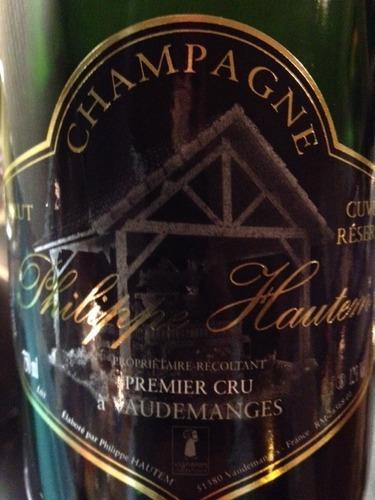 Terms Of Use >> Philippe Hautem Champagne À Vaudemanges Cuvée Réserve ...