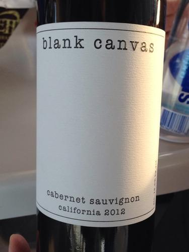Blank Canvas California Cabernet Sauvignon Wine Info